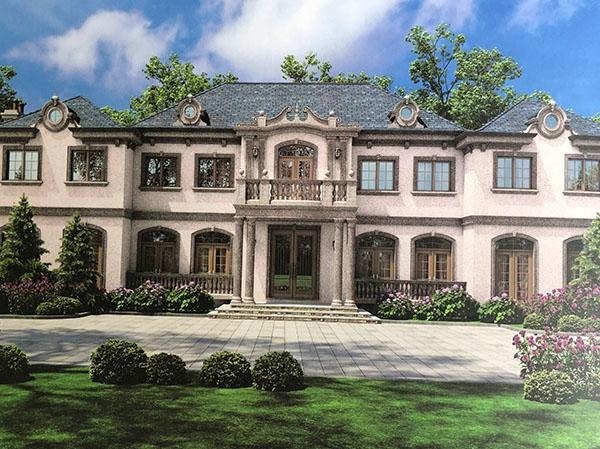 别墅墙面漆工程